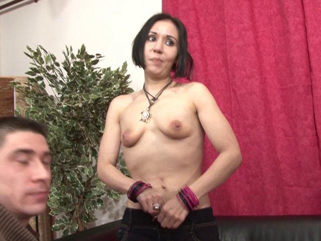 Premier Casting porno et première sodomie